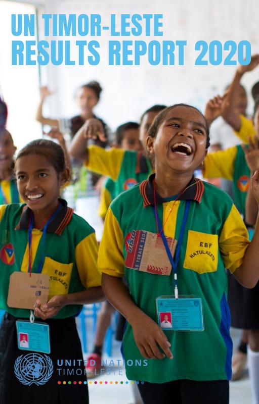 UN Timor-Leste  Results Report 2020