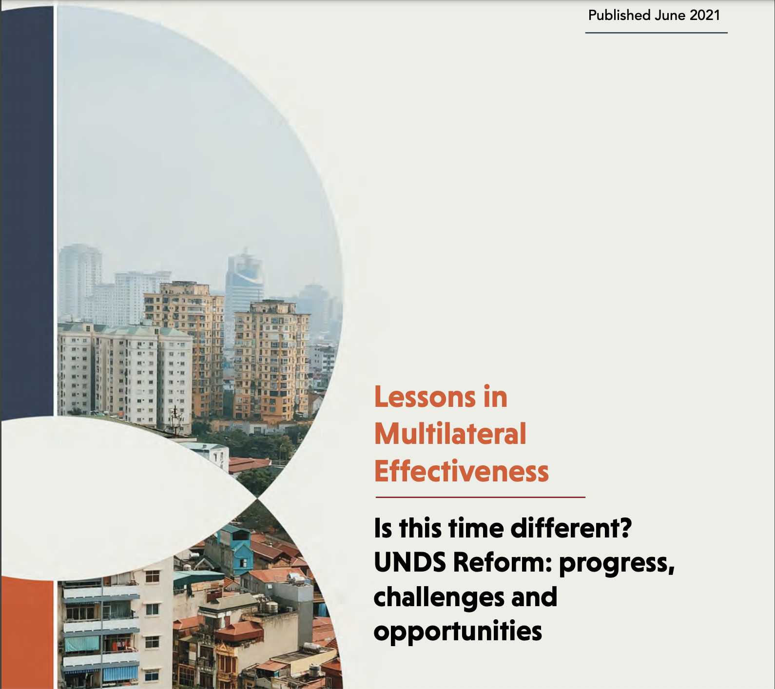 Lessons in Multilateral Effectiveness