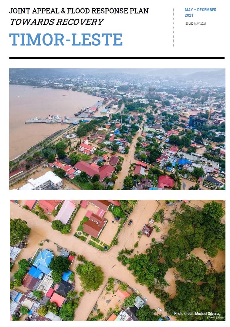 JOINT APPEAL & FLOOD RESPONSE PLAN TIMOR-LESTE