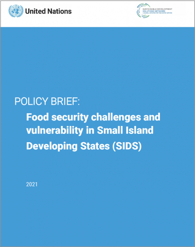 Policy Brief: Food Security Challenges and Vulnerability in Small Island Developing States