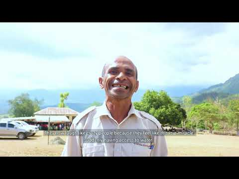 UNICEF Timor-Leste and Govt of Japan inaugurate water system at Suco Suru Craic, Ainaro Municipality