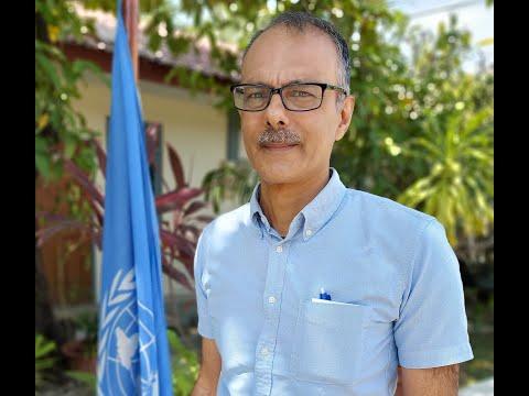 UN Timor-Leste Resident Coordinator Roy Trivedy talks about achieving SDGs in Timor-Leste