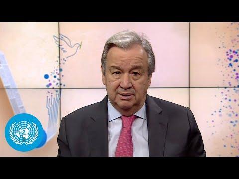 World Press Freedom Day 2021 - António Guterres (UN Secretary-General)