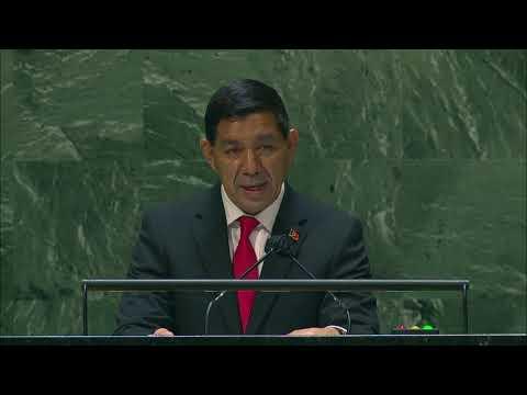 Íntegra do discurso do representante de Timor-Leste na Assembleia Geral da ONU